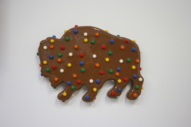, 'Buffalo Cookie,' 2016, Turner Carroll Gallery