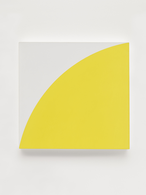 , 'Yellow Curve II,' 1972, Matthew Marks Gallery