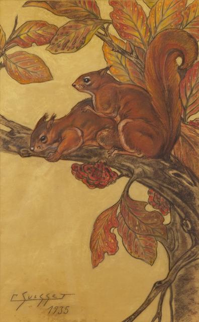 , 'Red squirrels,' 1935, Galerie Dumonteil