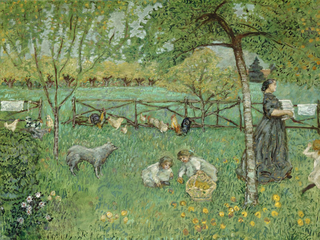 , 'The Large Garden,' 1895, Legion of Honor