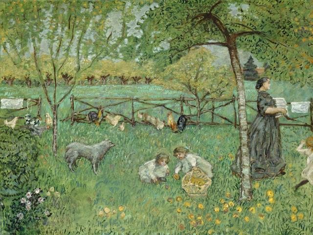 Pierre Bonnard, 'The Large Garden', 1895, Legion of Honor