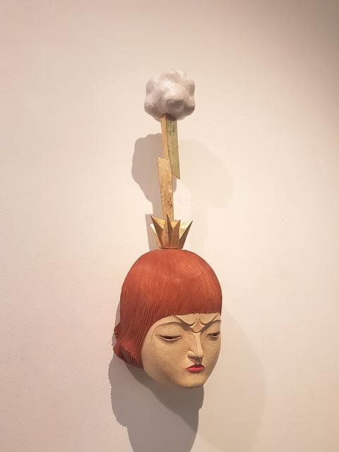 , 'Word Coming Inwards: Lightning,' 2019, Karin Weber Gallery