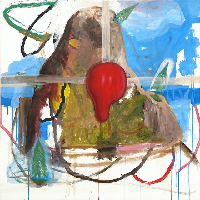 , 'Palhasso XII,' 2018, Galerie Thomas Bernard
