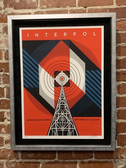 , 'Interpol: NYC Calling,' 2019, Mason-Nordgauer Fine Arts Gallery