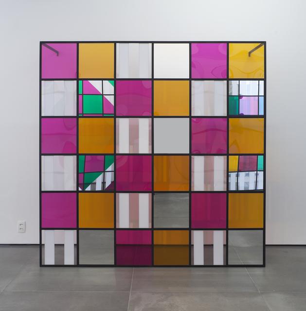 Daniel Buren, 'Photo-souvenir: Colors, light, projection, shadows, transparency: works in situ 6', 2015, Galeria Nara Roesler