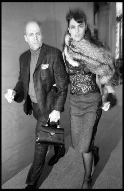, 'Ted LANDERS and Daniela URZI. New York City. USA.,' 2004, Magnum Photos
