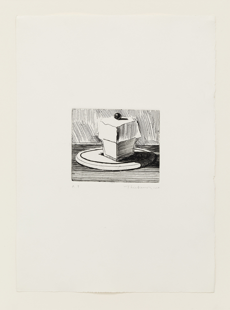 Wayne Thiebaud, 'Lemon Meringue', 1964, Mary Ryan Gallery, Inc