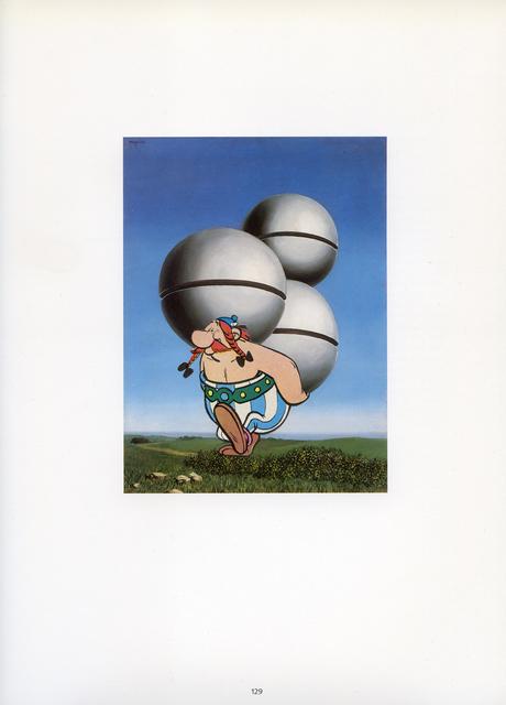 , 'Collage Nr. 626 (Magritte/Obelix),' 2015, Niklas Schechinger Fine Art.