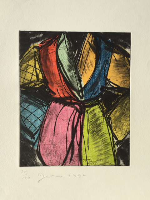 Jim Dine, 'The Yellow Belt ', 2005, Denis Bloch Fine Art