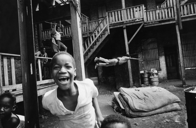 , 'Bakyard Olympics, Chicago,' 1958, Monroe Gallery of Photography