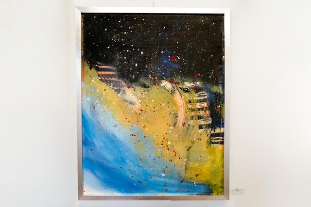 Arica Hilton, 'Tides I', 2020, Mixed Media, Acrylic on Acrylic reverse painting, Hilton Asmus
