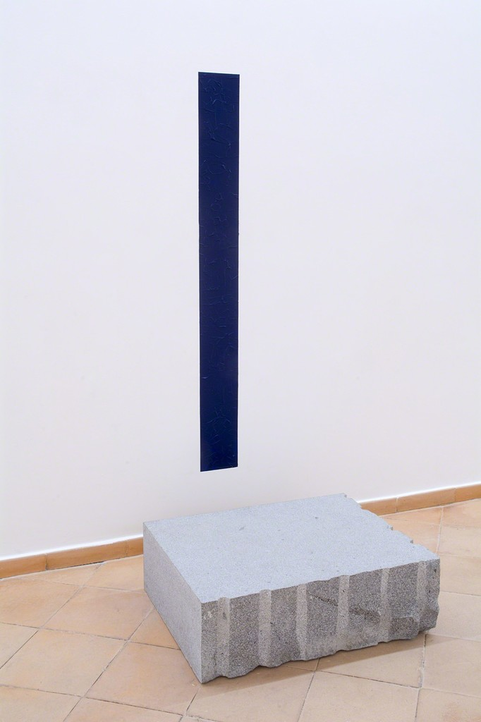Giovanni Anselmo, installation view