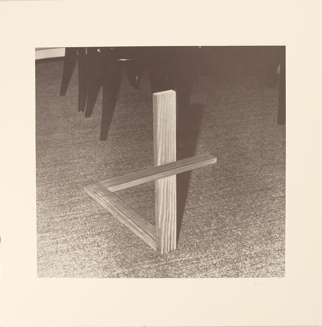 , 'Blatt b aus der Edition: 9 Objekte ,' 1969, Galerie Brigitte Schenk