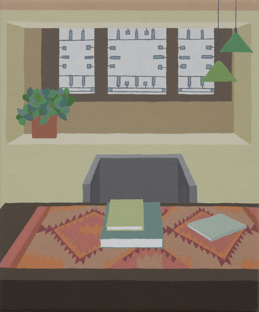 , 'Office at the Frank Lloyd Wright Home and Studio in Oak Park, Illinois,' 2019, Sapar Contemporary