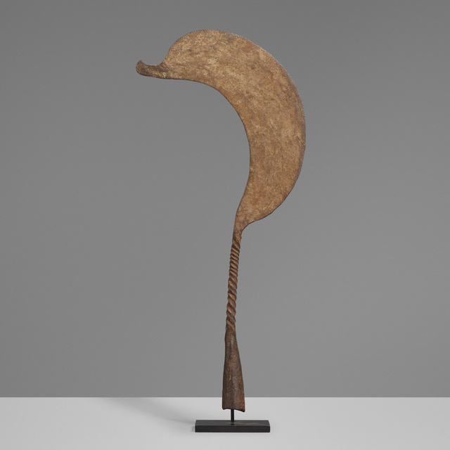 'Ceremonial throwing knife', Other, Wrought iron, Rago/Wright