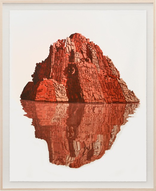 , 'Reflejo Rojo,' 2020, Sabrina Amrani