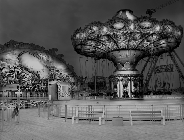 , 'Afterlife - New Jersey Shore - Moby Dick & Swing Ride,' 2009, Holden Luntz Gallery