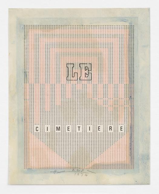 , 'Le Cimetière,' 1974, Richard Saltoun