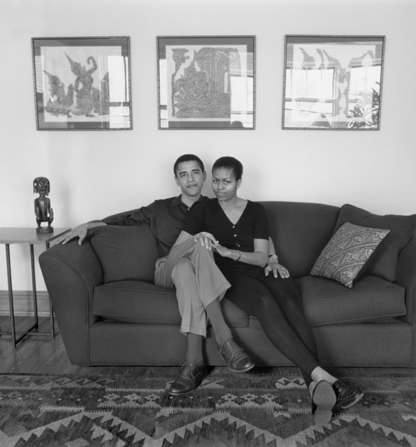 , 'Barack and Michelle Obama, Chicago, Illinois, 26 May 1996,' , Lee Marks Fine Art