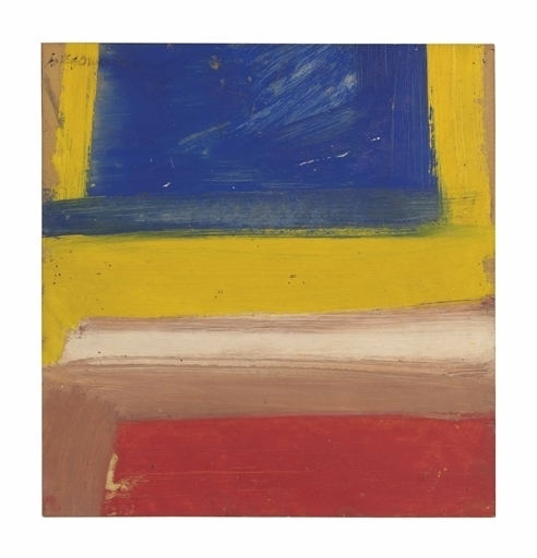 Willem de Kooning, 'Untitled (Composition Red, Yellow, Blue)', Christie's