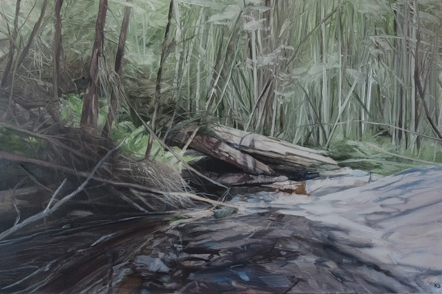 , 'Savage Pond VII Study,' 2018, Nanda\Hobbs
