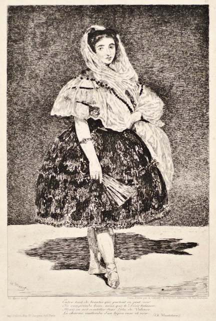 Édouard Manet, 'Lola de Valence', 1962, Wallector