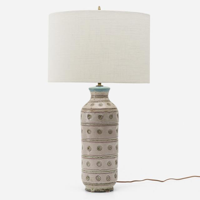 Guido Gambone, 'Table lamp', c. 1955, Wright