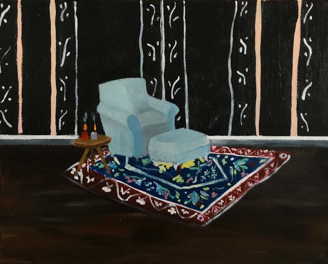 , 'Blue Chair in Parlor,' 2018, Tillou Fine Art