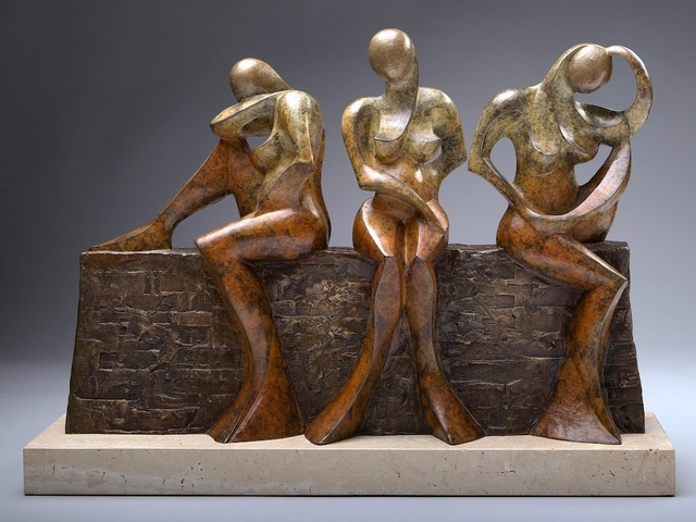 , 'Three Sisters,' 2010-2017, Eisenhauer Gallery