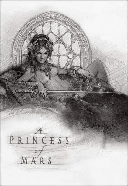 , 'A Princess of Mars (Preliminary),' , IX Gallery