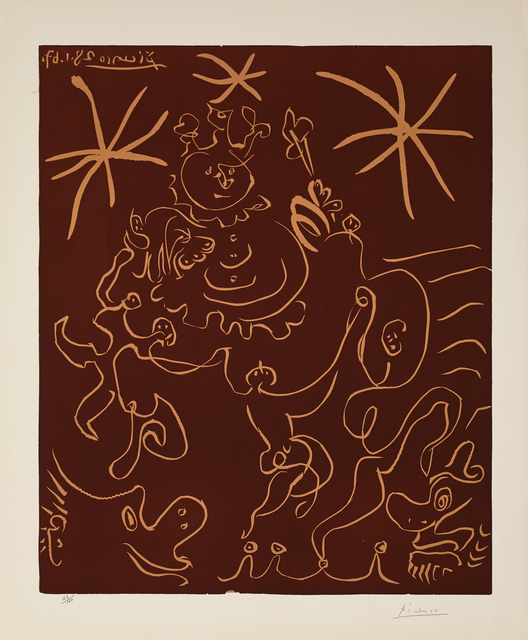 Pablo Picasso, 'Carnaval (B.1242)', 1967, Martin Lawrence Galleries