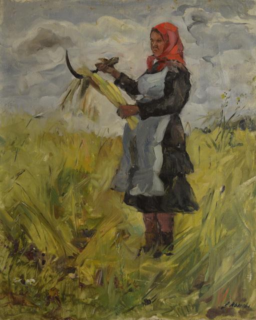 Valentina Vladimirovna Ivanova, 'Chuvashian peasant woman ', 1967, Surikov Foundation