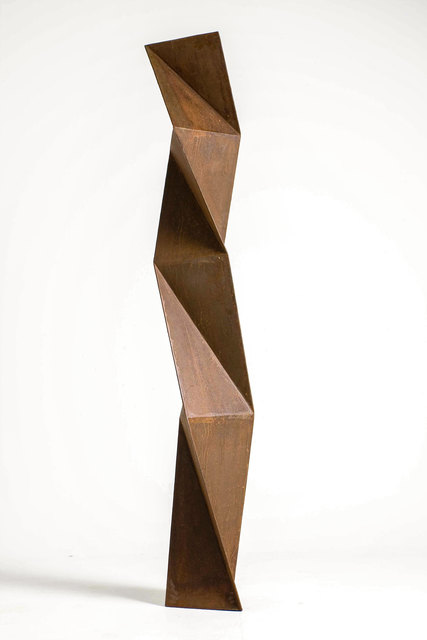 Juan Mejía, 'Origami No. 01', 2007, Sculpture, Cut and Folded Rusted Steel, Ministry of Nomads