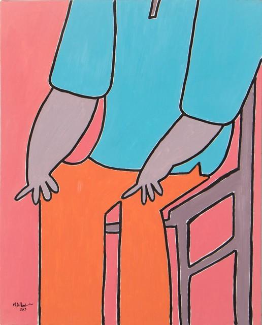 , 'Sitting Man,' 2013, Lawrie Shabibi