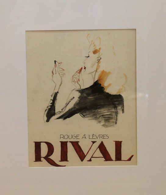 , 'Advertising model for a Rival lipstick, by Leon Benigni,' 1940-1949, Avant-Garde Gallery