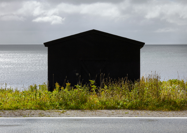 , 'Black Shed, Port aux Port,' 2016, Christina Parker Gallery
