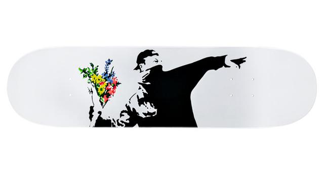 Banksy, 'Flower Thrower deck', 2018, EHC Fine Art Gallery Auction