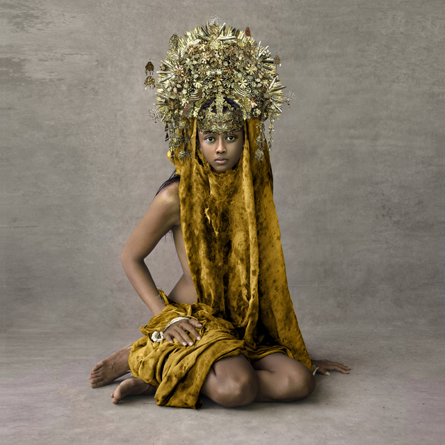 , 'Young Woman with Marriage Ceremony Headpiece, Sunda Islands,' 2013, Addicted Art Gallery