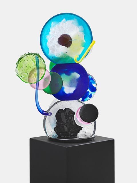 , 'Helios (Blue),' 2018, Hans Alf Gallery