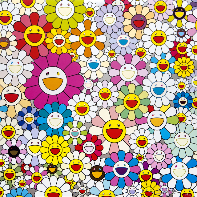 Takashi Murakami, 'flowers from the village of ponkotan', 2011, Mixer