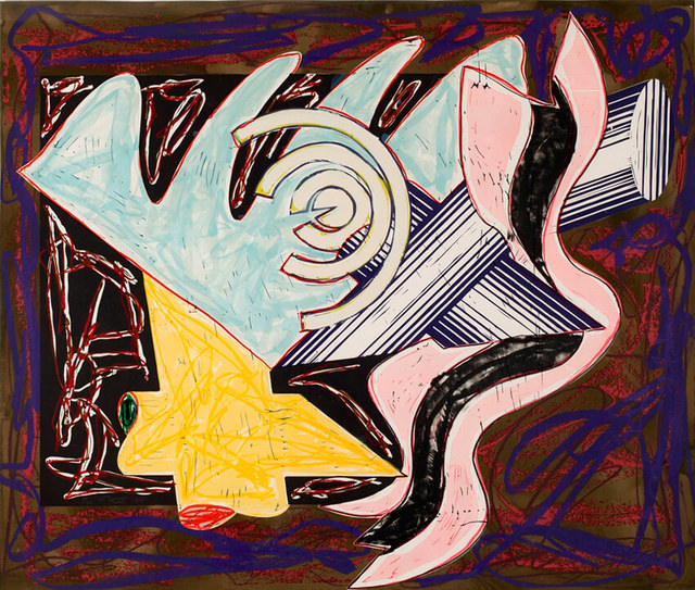 Frank Stella, 'A Hungry Cat Ate Up the Goat', 1984, Masterworks Fine Art