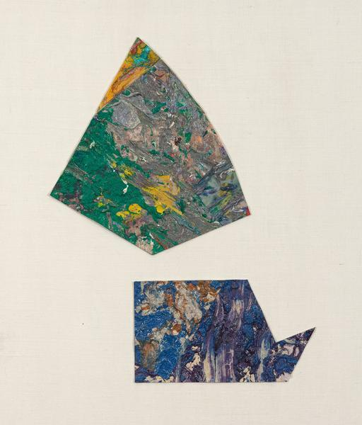 , 'Untitled (Abstract Diptych),' 1980, Caviar20