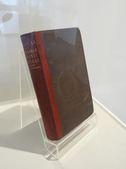 Luis Molina-Pantin, 'Manual de urbanidad y buenas maneras de Manuel A. Carreño, 1era. edición, New York, 1857', 2011, Henrique Faria Fine Art