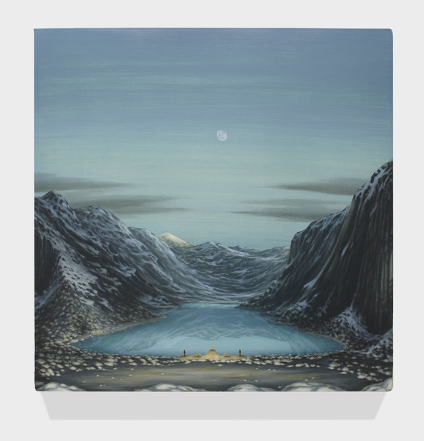 , 'GLACIAL LAKE WITH BLONDE GIRLS 2,' 2015, Greg Kucera Gallery