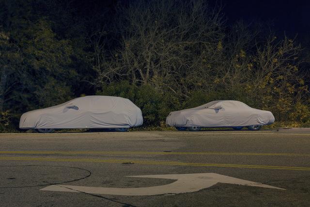 , 'Sleeping Car, Pacific Coast Highway #4,' 2013, Fahey/Klein Gallery