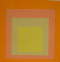 Josef Albers, Composition Nine, from: Homage to the Square | Hommage au Carré