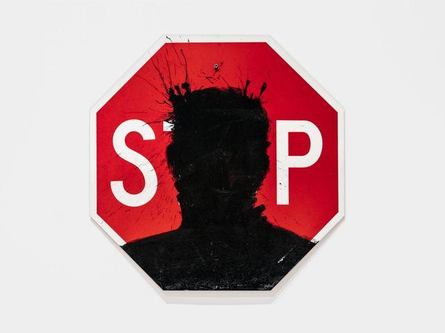 Richard Hambleton, 'Stop Sign', 1999, Chase Contemporary
