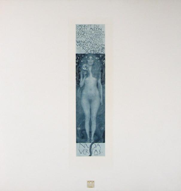 , 'Nuda Veritas [Das Werk Gustav Klimts],' 1908-1914, Jason Jacques Gallery