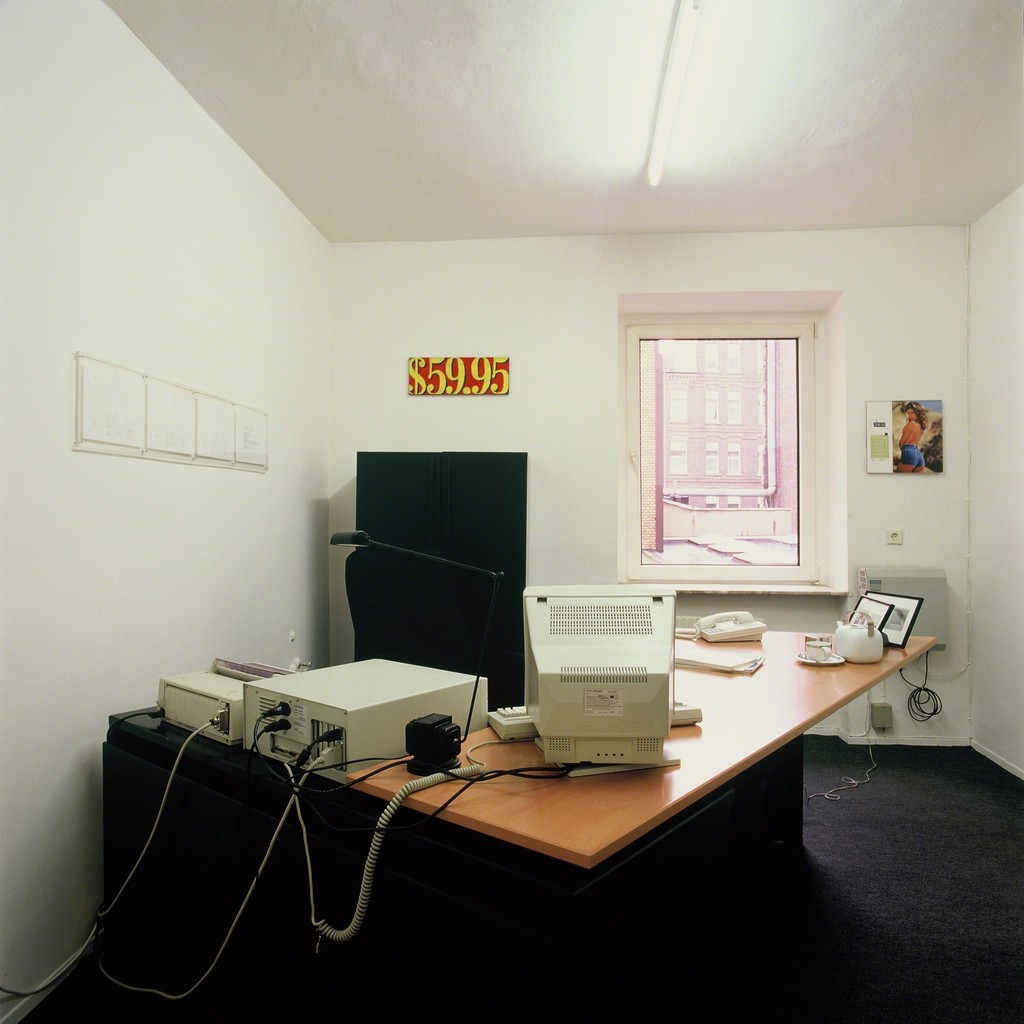 """Wohnzimmer/Büro"", 1992