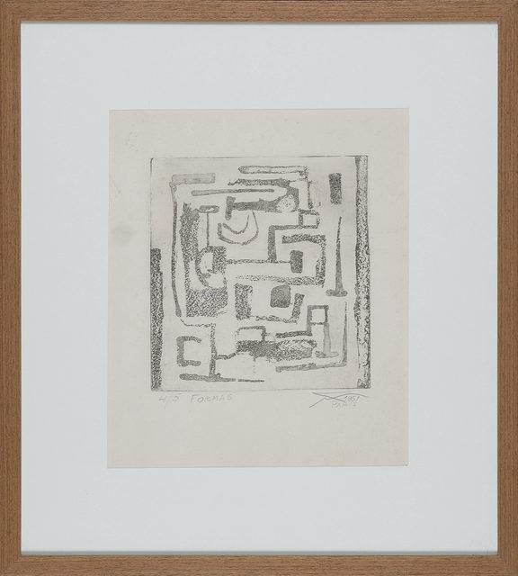 Geraldo de Barros, 'Formas', 1951, Print, Etching on paper, LAART